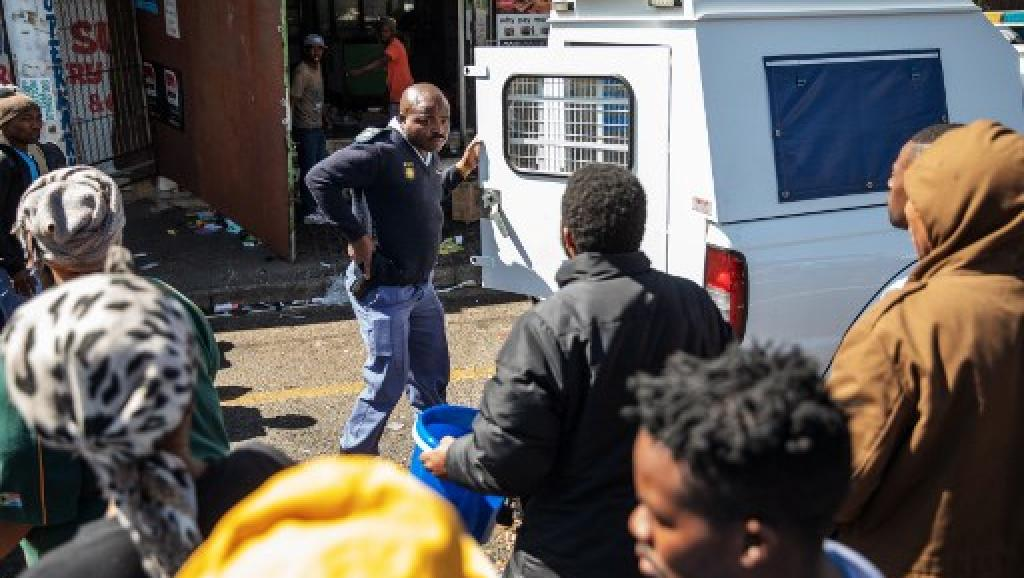 Afrique du Sud: la fièvre xénophobe sème le chaos à Johannesburg