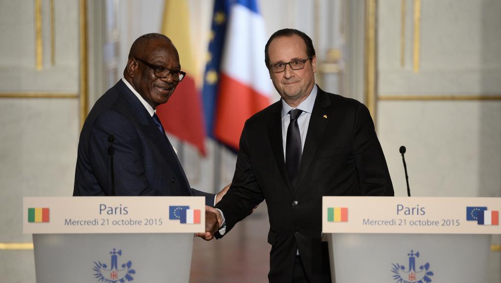 Visite d'IBK en France: Paris-Bamako, deux partenaires «fidèles»