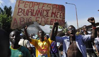 Burundi : au 3e jour de manifestations, le pouvoir de Nkurunziza parle d