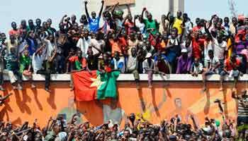 Pour vous, l'Africain de l'année 2014, c'est le peuple burkinabè