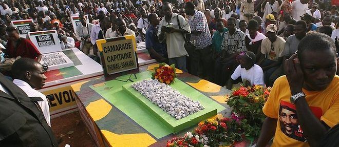 Burkina - Sankara : son corps va être exhumé