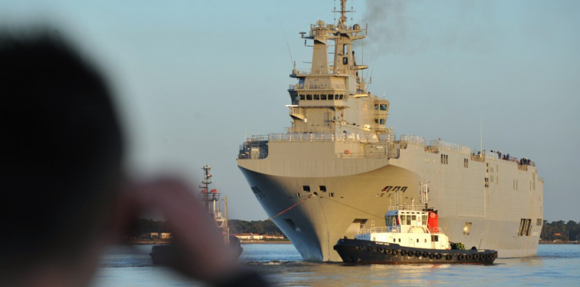 Livraison des Mistral : Moscou lance un ultimatum à Paris