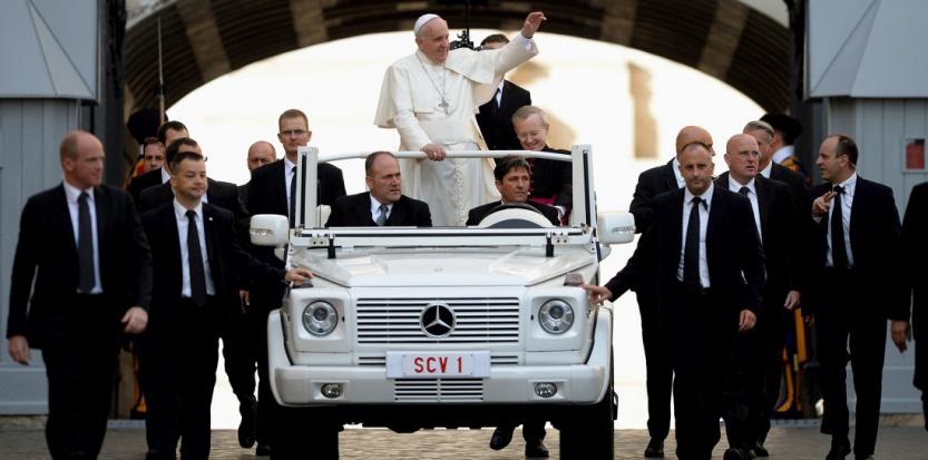 La sécurité du pape François est-elle menacée ?