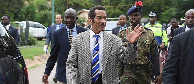 Botswana : en quittant le pouvoir, Ian Khama veut inspirer l'Afrique