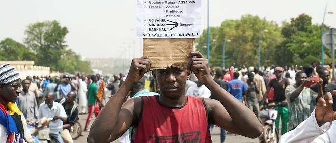Les Maliens en colère