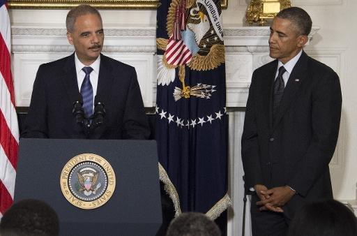 Le ministre américain de la Justice, Eric Holder, démissionne