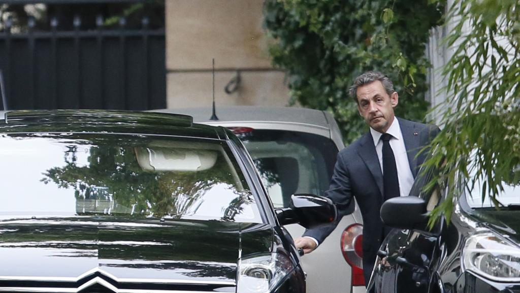 France: Nicolas Sarkozy candidat à la présidence de l'UMP