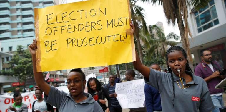 Au Kenya, la Commission électorale annonce le report de la nouvelle présidentielle au 26 octobre