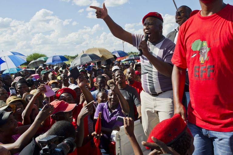 Afrique du Sud : le camp de Julius Malema divisé