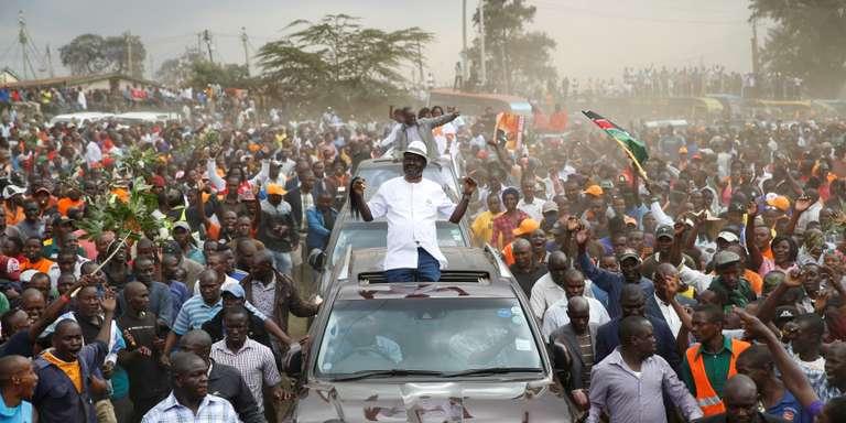 Au Kenya, l'opposant Raila Odinga appelle au boycottage du scrutin présidentiel