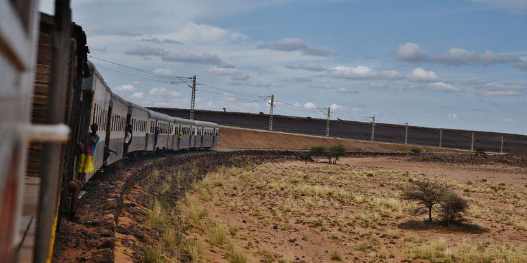 REPORTAGE / En Ethiopie, dernier train français pour le désert avant les convois chinois