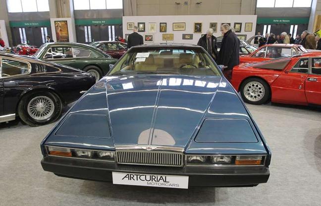 L'Aston Martin d'Omar Bongo adjugée à 43.500 euros aux enchères