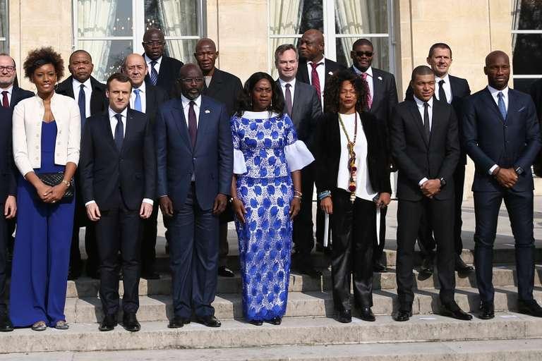 A Paris, George Weah en quête d'investissements pour développer le Liberia