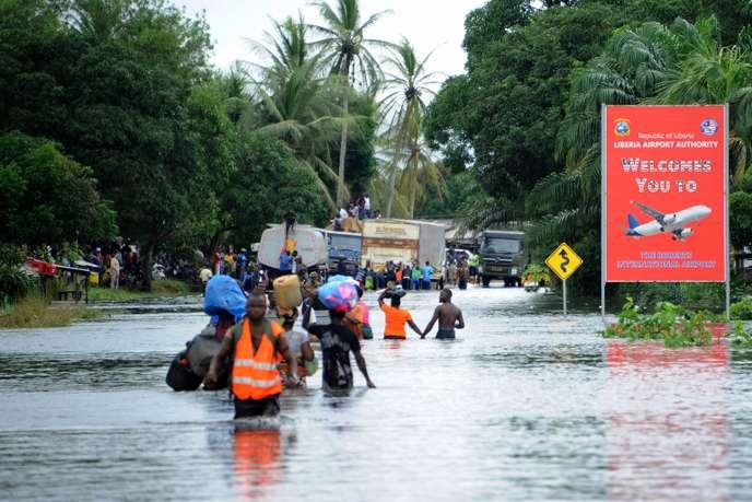 Parmi les dix villes les plus menacées par le changement climatique, huit sont en Afrique