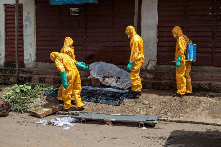 Ebola : le seuil des 10 000 cas est dépassé