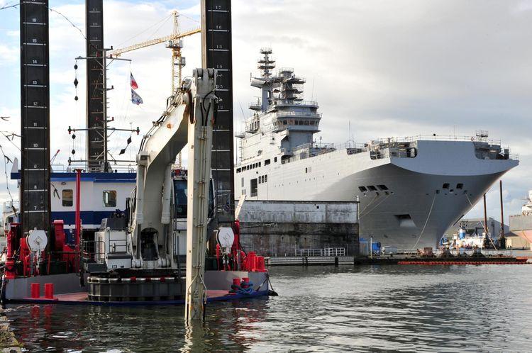 Moscou rappelle Paris à l'ordre sur le Mistral