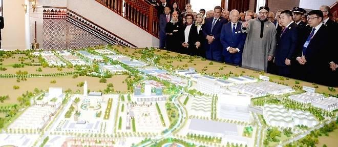 Infrastructures : la Chine lance son plus grand chantier africain au Maroc
