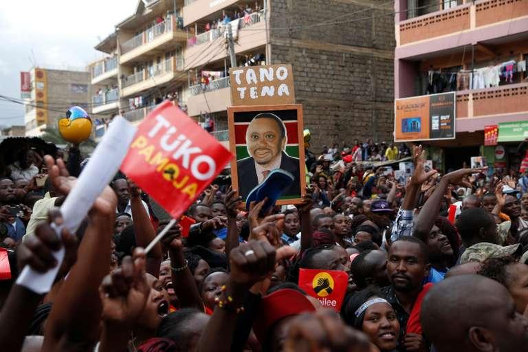 Au Kenya, une présidentielle bis dans un climat d'incertitude