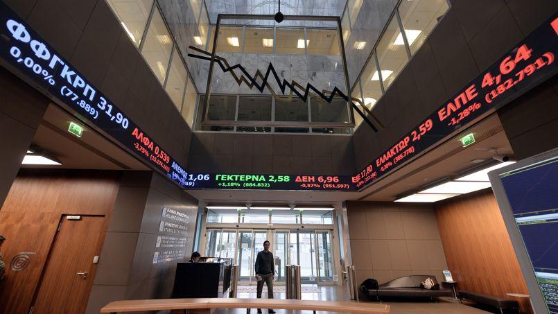 Grèce: les marchés craignent une restructuration de la dette qui ferait contagion