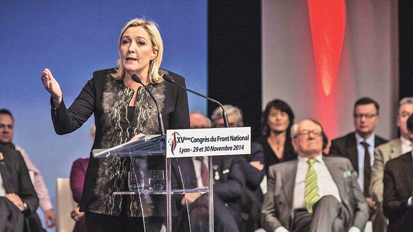 Front national : réélue à la tête de son parti, Marine Le Pen veut atteindre l'Élysée