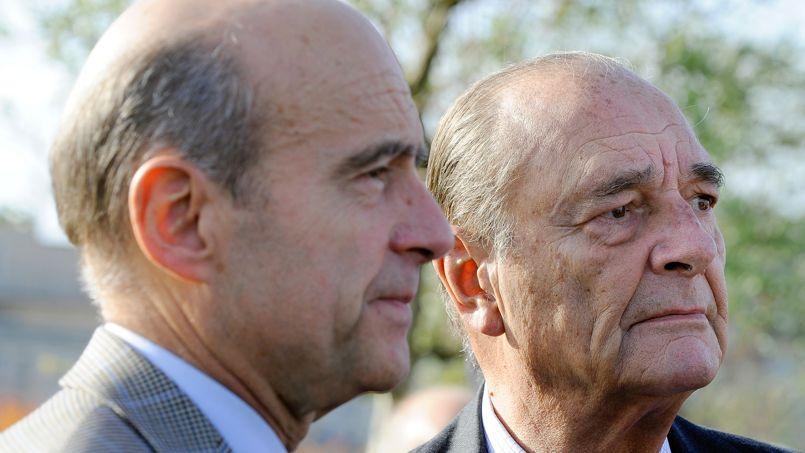 S'il le pouvait, Chirac «aurait déjà réservé sa place au QG» de Juppé