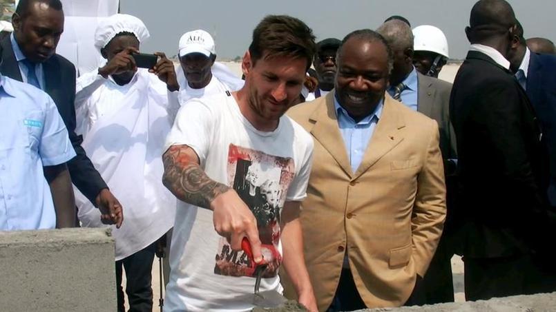 Disparition des empreintes de Messi au Gabon