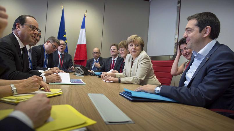 Face à la Grèce, le couple franco-allemand se fissure