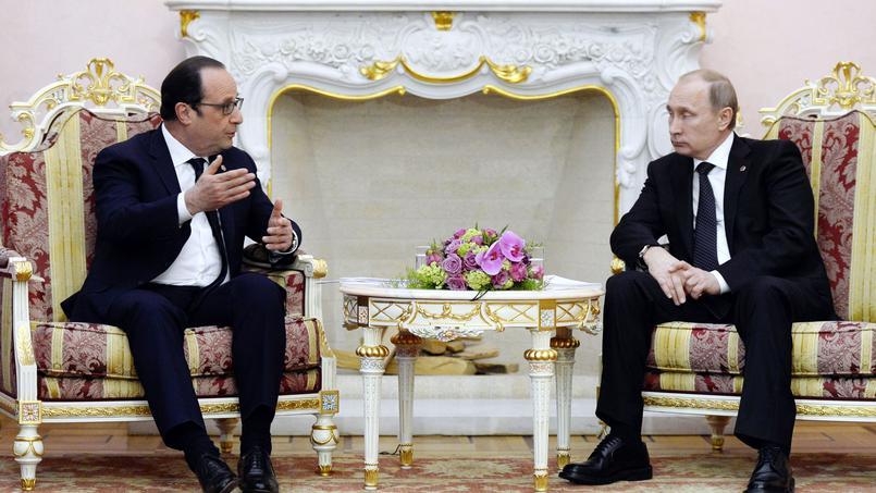 Poutine, Hollande et les Mistral perdants