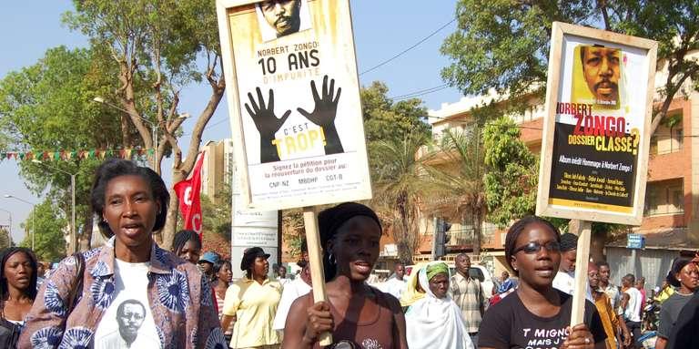Burkina Faso : où en est l'affaire Norbert Zongo ?