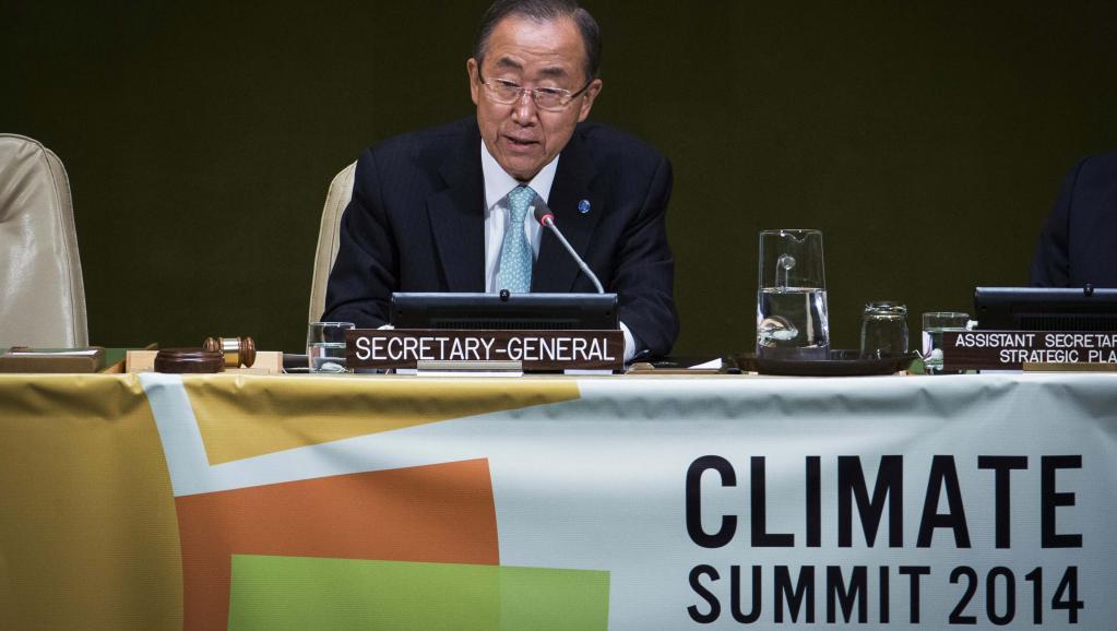 Changement climatique: de nouveaux objectifs fixés au sommet de l'ONU