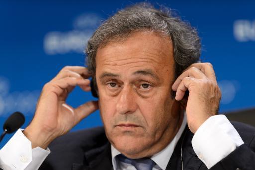 """Platini déplore une Fifa """"au service du maintien d'un homme"""""""