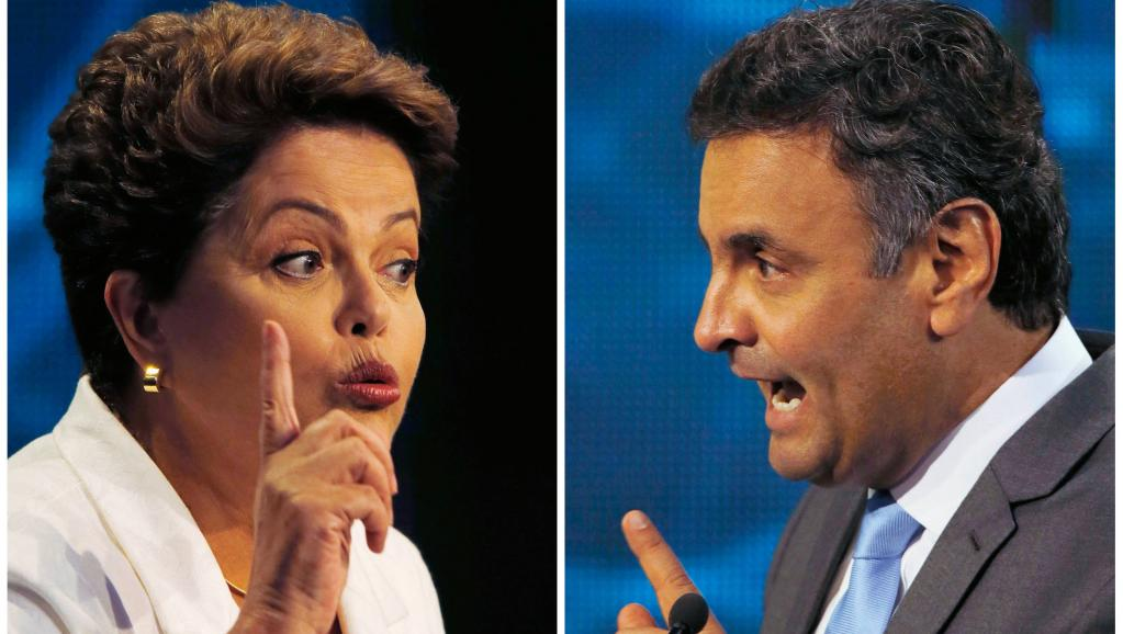 Dilma Rousseff contre Aecio Neves, «dame de fer» contre «golden boy»