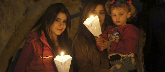 Dans les camps de réfugiés des chrétiens d'Irak
