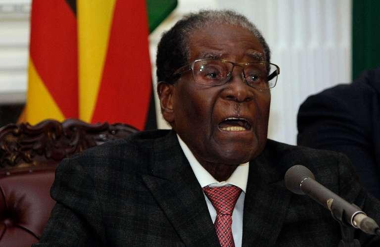 Ce qu'il faut retenir du discours de Robert Mugabe, le président sous pression du Zimbabwe