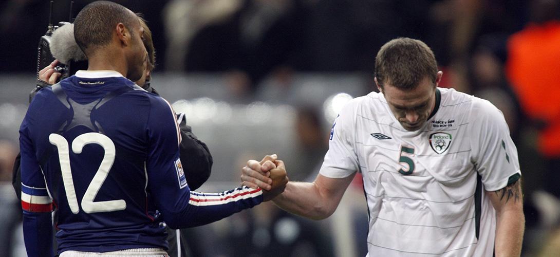 Pour éviter un recours en justice, la Fifa a indemnisé l'Irlande après la main de Henry en 2009