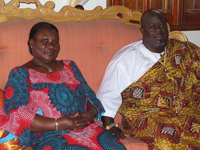 Côte d'Ivoire/Royaume de Moossou : Rite à la Cour royale et cérémonie traditionnelle