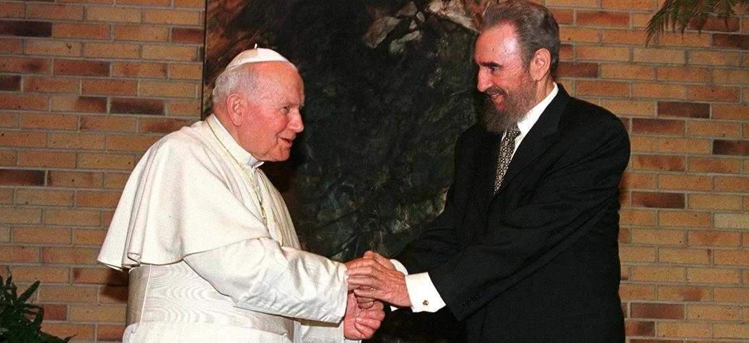 Sur Cuba, avant le pape François, Jean-Paul II avait ouvert la voie