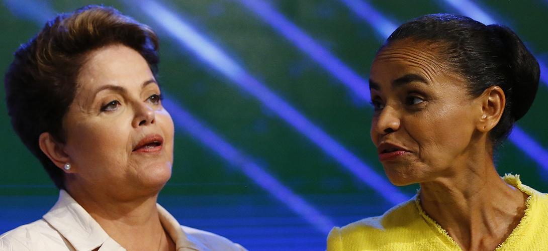 Election présidentielle: Dilma Rousseff ou Marina Silva, les Brésiliens face à un choix cornélien