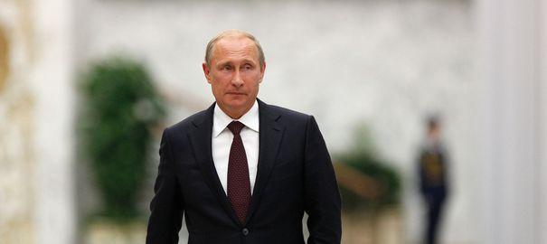 Poutine, l'homme le plus puissant de la planète selon le magazine Forbes